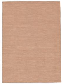 Kelim Loom - Dusty Rose Matto 160X230 Moderni Käsinkudottu Punainen/Vaaleanpunainen (Villa, Intia)