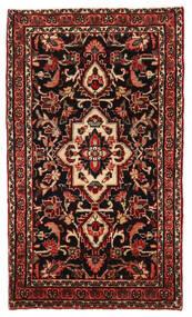 Lillian Matto 64X111 Itämainen Käsinsolmittu Tummanpunainen/Vaaleanruskea (Villa, Persia/Iran)