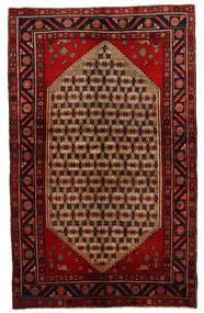 Koliai Matto 131X213 Itämainen Käsinsolmittu Tummanpunainen/Ruoste (Villa, Persia/Iran)