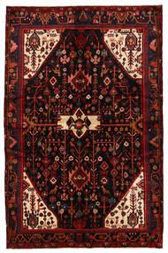 Nahavand Matto 169X258 Itämainen Käsinsolmittu Tummanpunainen/Punainen (Villa, Persia/Iran)