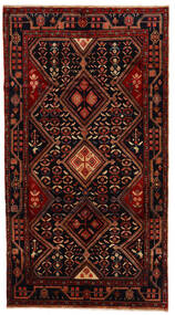 Koliai Matto 153X282 Itämainen Käsinsolmittu Tummanpunainen (Villa, Persia/Iran)