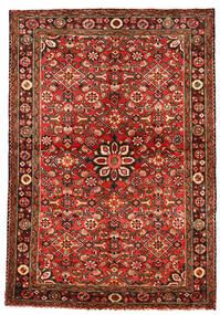 Hosseinabad Matto 113X163 Itämainen Käsinsolmittu Tummanpunainen/Ruoste (Villa, Persia/Iran)
