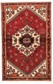 Rudbar Matto 100X159 Itämainen Käsinsolmittu Tummanpunainen/Ruoste (Villa, Persia/Iran)