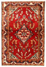 Mehraban Matto 100X149 Itämainen Käsinsolmittu Ruoste/Beige (Villa, Persia/Iran)