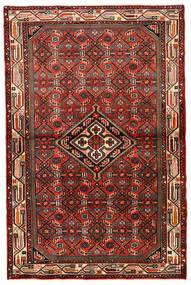Hamadan Matto 99X152 Itämainen Käsinsolmittu Tummanruskea/Ruoste (Villa, Persia/Iran)