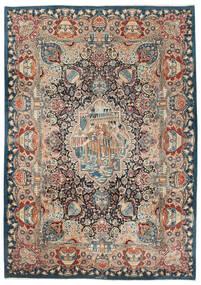 Kashmar Matto 250X350 Itämainen Käsinsolmittu Tummanharmaa/Tummansininen Isot (Villa, Persia/Iran)