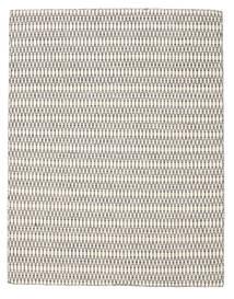 Kelim Long Stitch - Cream/Musta Matto 190X240 Moderni Käsinkudottu Vaaleanharmaa/Beige (Villa, Intia)