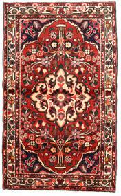 Rudbar Matto 97X162 Itämainen Käsinsolmittu Tummanruskea/Tummanpunainen (Villa, Persia/Iran)
