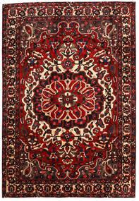 Bakhtiar Matto 205X302 Itämainen Käsinsolmittu Tummanpunainen/Tummanruskea (Villa, Persia/Iran)