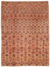 Moroccan Berber - Afghanistan Matto 209X281 Moderni Käsinsolmittu Punainen/Vaaleanruskea (Villa, Afganistan)