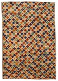 Moroccan Berber - Afghanistan Matto 200X289 Moderni Käsinsolmittu Ruskea/Tummanruskea (Villa, Afganistan)