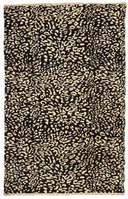 Moroccan Berber - Afghanistan Matto 197X309 Moderni Käsinsolmittu Musta/Beige (Villa, Afganistan)