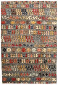 Moroccan Berber - Afghanistan Matto 205X300 Moderni Käsinsolmittu Tummanharmaa/Vaaleanharmaa (Villa, Afganistan)