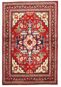 Tabriz Matto 97X148 Itämainen Käsinsolmittu Tummanvioletti/Ruoste (Villa, Persia/Iran)
