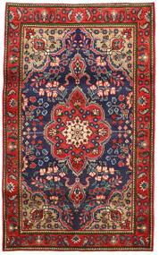 Tabriz Matto 100X165 Itämainen Käsinsolmittu Ruoste/Tummanharmaa (Villa, Persia/Iran)