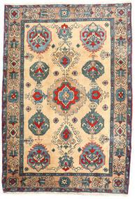 Ardebil Matto 114X168 Itämainen Käsinsolmittu Beige/Vaaleanruskea (Villa, Persia/Iran)