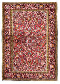 Keshan Matto 103X147 Itämainen Käsinsolmittu Tummanpunainen/Tummanvioletti (Villa, Persia/Iran)