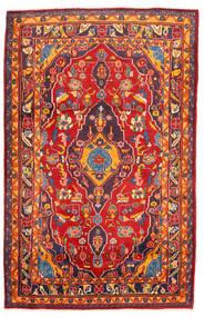 Golpayegan Matto 107X168 Itämainen Käsinsolmittu Ruoste/Tummanpunainen (Villa, Persia/Iran)
