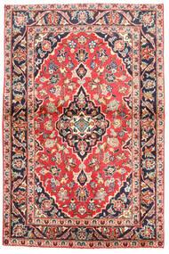 Keshan Matto 97X160 Itämainen Käsinsolmittu Musta/Valkoinen/Creme (Villa, Persia/Iran)