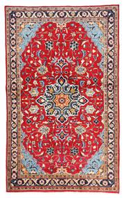 Mahal Matto 128X210 Itämainen Käsinsolmittu Punainen/Valkoinen/Creme (Villa, Persia/Iran)