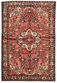 Bakhtiar Matto 143X217 Itämainen Käsinsolmittu Tummanpunainen/Beige (Villa, Persia/Iran)