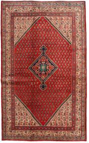 Sarough Mir Matto 128X210 Itämainen Käsinsolmittu Tummanpunainen/Ruoste (Villa, Persia/Iran)