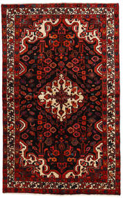 Bakhtiar Matto 140X230 Itämainen Käsinsolmittu Tummanruskea/Tummanpunainen (Villa, Persia/Iran)