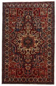 Bakhtiar Matto 161X257 Itämainen Käsinsolmittu Tummanruskea/Tummanpunainen (Villa, Persia/Iran)