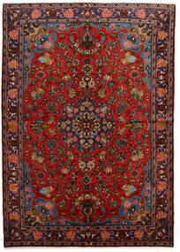 Mehraban Matto 162X230 Itämainen Käsinsolmittu Tummanruskea/Musta (Villa, Persia/Iran)