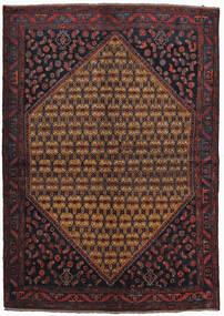 Koliai Matto 160X225 Itämainen Käsinsolmittu Tummanpunainen/Ruskea (Villa, Persia/Iran)