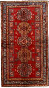 Ardebil Matto 137X246 Itämainen Käsinsolmittu Ruoste/Tummanpunainen (Villa, Persia/Iran)