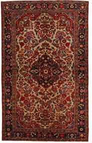 Lillian Matto 148X240 Itämainen Käsinsolmittu Tummanruskea/Tummanpunainen (Villa, Persia/Iran)