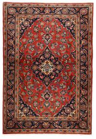 Keshan Matto 100X146 Itämainen Käsinsolmittu Tummanruskea/Ruoste (Villa, Persia/Iran)
