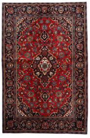 Keshan Matto 140X216 Itämainen Käsinsolmittu Tummanpunainen/Tummanruskea (Villa, Persia/Iran)