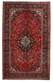 Keshan Matto 151X247 Itämainen Käsinsolmittu Tummanpunainen/Ruoste (Villa, Persia/Iran)