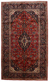 Keshan Matto 150X256 Itämainen Käsinsolmittu Tummanpunainen/Tummanruskea (Villa, Persia/Iran)