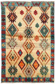 Moroccan Berber - Afghanistan Matto 114X183 Moderni Käsinsolmittu Tummanbeige/Beige (Villa, Afganistan)