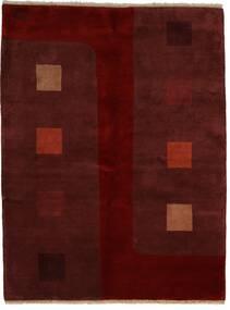 Gabbeh Indo Matto 174X229 Moderni Käsinsolmittu Tummanpunainen/Tummanruskea (Villa, Intia)
