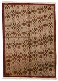 Himalaya Matto 171X237 Moderni Käsinsolmittu Vaaleanruskea/Tummanruskea/Ruskea (Villa, Intia)
