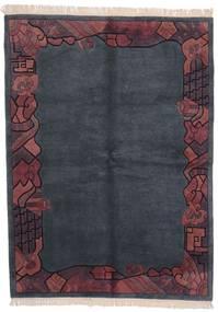 Himalaya Matto 170X229 Moderni Käsinsolmittu Tummanharmaa/Tummanvioletti (Villa, Intia)