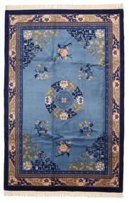 Kiina Antiikkiviimeistely Matto 183X274 Itämainen Käsinsolmittu Tummanvioletti/Sininen (Villa, Kiina)