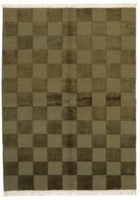 Gabbeh Indo Matto 172X235 Moderni Käsinsolmittu Oliivinvihreä/Tummanvihreä (Villa, Intia)
