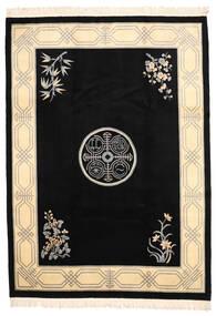 Kiina Antiikkiviimeistely Matto 244X335 Itämainen Käsinsolmittu Musta/Beige (Villa, Kiina)