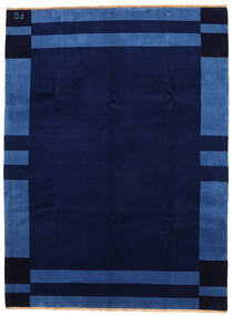 Gabbeh Indo Matto 258X346 Moderni Käsinsolmittu Tummansininen Isot (Villa, Intia)