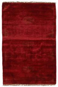 Huttan Matto 96X143 Itämainen Käsinsolmittu Tummanpunainen (Villa, Pakistan)