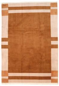 Gabbeh Indo Matto 250X355 Moderni Käsinsolmittu Ruskea/Vaaleanpunainen Isot (Villa, Intia)
