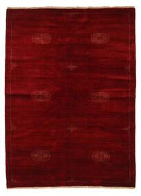 Huttan Matto 142X195 Itämainen Käsinsolmittu Tummanpunainen/Tummanruskea (Villa, Pakistan)