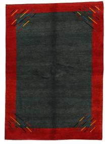 Gabbeh Indo Matto 171X239 Moderni Käsinsolmittu Tummanvihreä/Ruoste (Villa, Intia)