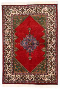 Kazak Matto 137X198 Itämainen Käsinsolmittu Tummanharmaa/Ruoste (Villa, Pakistan)