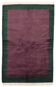 Gabbeh Indo Matto 144X219 Moderni Käsinsolmittu Tummanvioletti/Tumma Turkoosi (Villa, Intia)